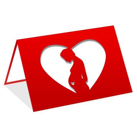 Pregnant woman heart
