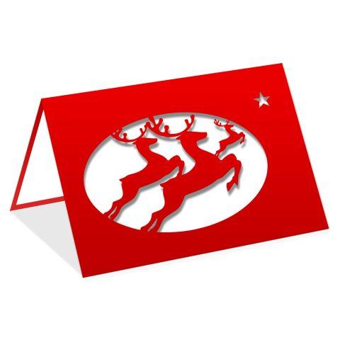 Chevreuils de Noël