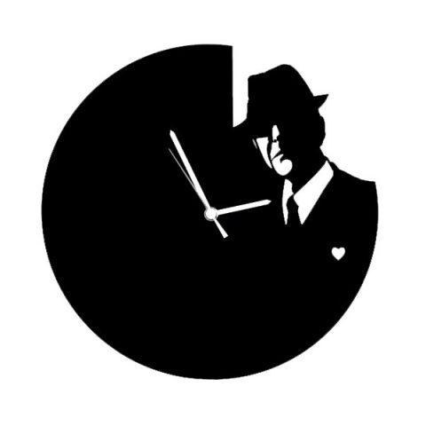 Horloge Cohen noir
