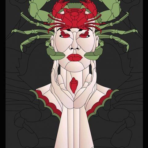 32-009-Femme-crabe-12x18