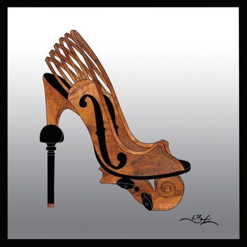 32-022 / Soulier violon 12 x 12