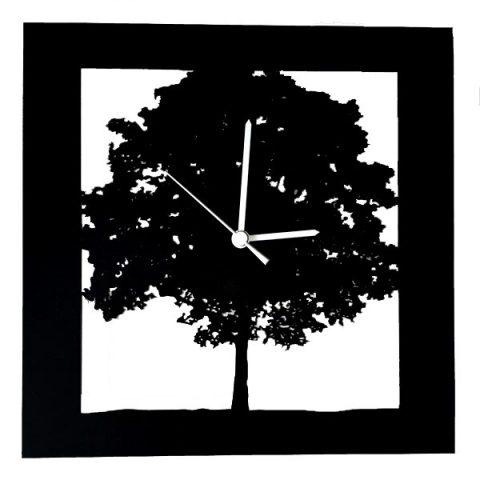 Arbre carré (Noir)