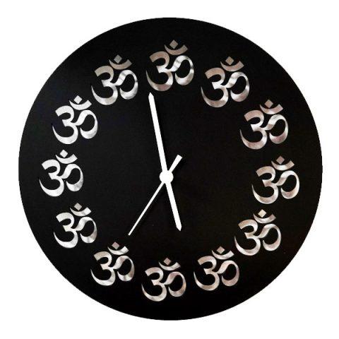 Horloge Aum Noire