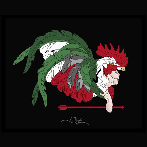 Homme coq
