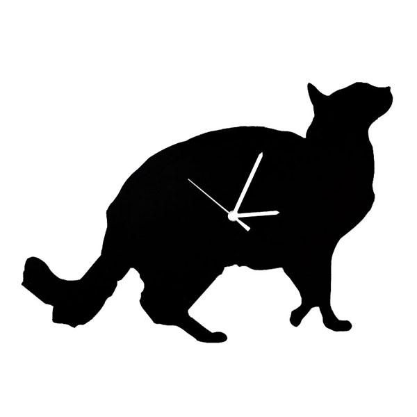 Gros minet horloge