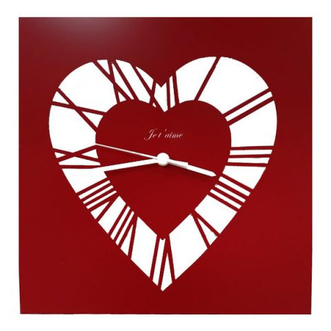 Time and love clock (Red)