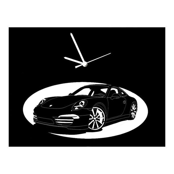 Porsche horloge (noir)