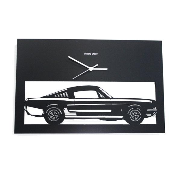 Horloge Mustang noire